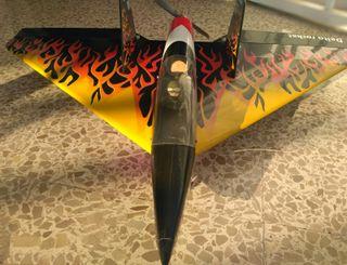 Delta Rocket High Speed Wing Black 640mm Rebajado