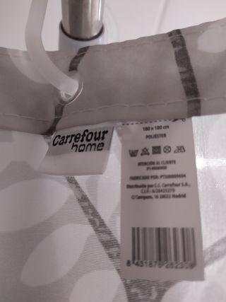 Cortinas Bano Carrefour.Cortinas Bano Carrefour Home De Segunda Mano Por 12 En