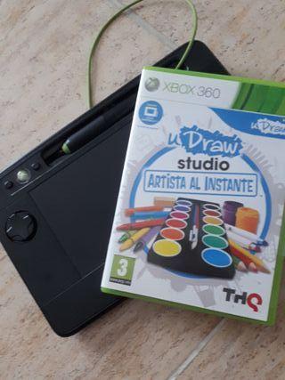 Juego uDraw Xbox360 + tableta