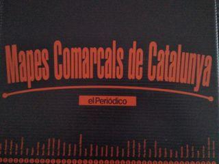 Mapes Comarcals de Catalunya (El periódico) NUEVOS