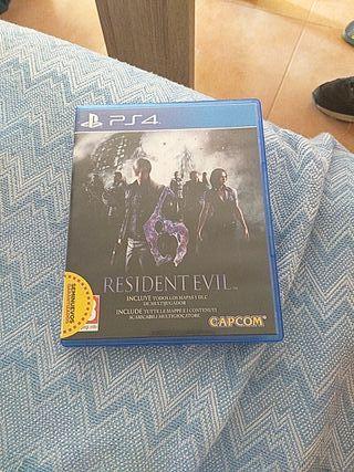 resident evil 6 play 4