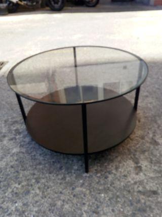 mesa auxiliar redonda