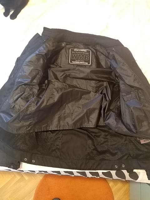 chaqueta moto hombre XL
