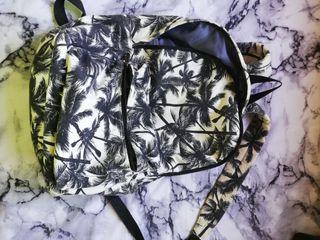 mochila de colegio palmeras