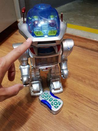 ROBOT RC LANZA DISCOS