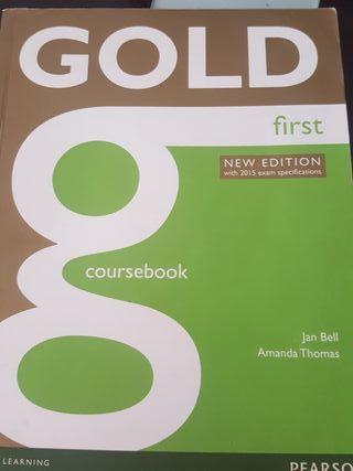 Libro inglés B2 Gold first