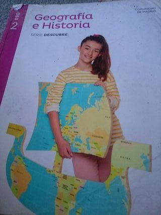 libro geografía y historia