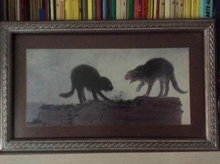 Reproducción cuadro de Goya