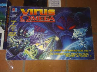 virus omega MB juego de mesa