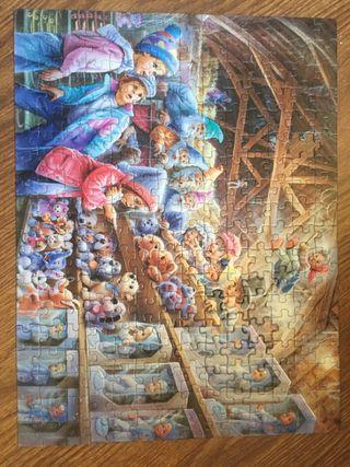 Puzzle 252 piezas, falta 1