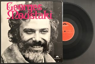 Disco vinilo de Georges Moustaki