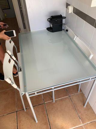 Mesa + sillas cocina