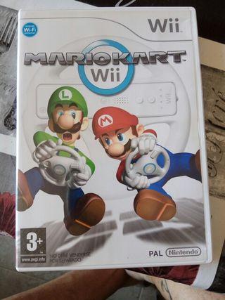 Mario Kart Wii + volante Wii