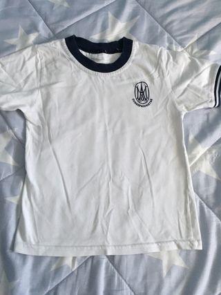 Camiseta deporte Colegio Concepcionista