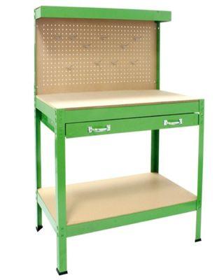 Mesa para garaje en su embalaje sin usar