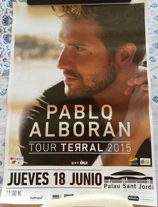 Póster Pablo Alborán