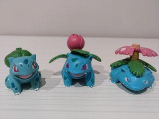 Set evolutivo Pokémon Bulbasaur Takara Tomy