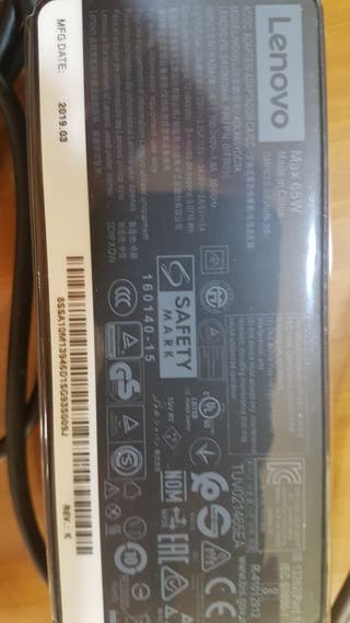 Cargador para portátil Lenovo Type C