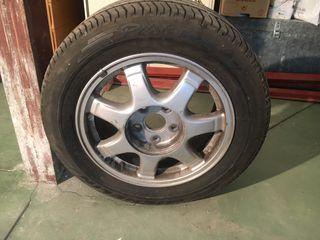 Llantas y neumáticos Audi las dos 95
