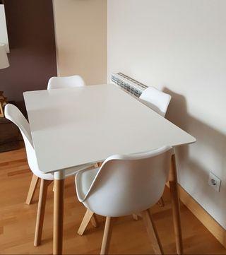 Mesa comedor nórdica de segunda mano en la provincia de Madrid en ...