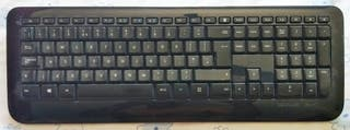 Teclado y ratón inalámbrico Microsoft
