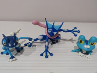 Set evolutivo Pokémon Greninja Takara Tomy