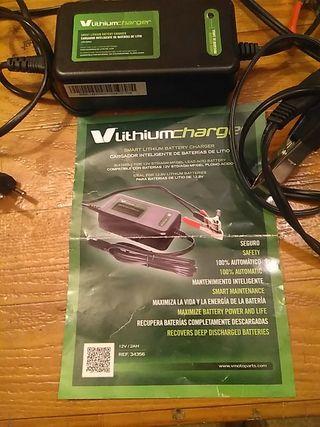 cargador inteligente de baterías de moto