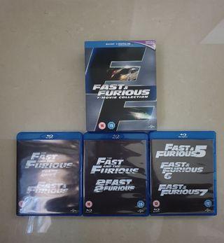 A todo gas colección 7 Blu-ray