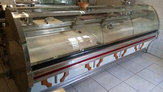 Vitrina expositora refrigerada de carnicería