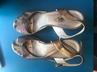 Zapatos de tango bandolera