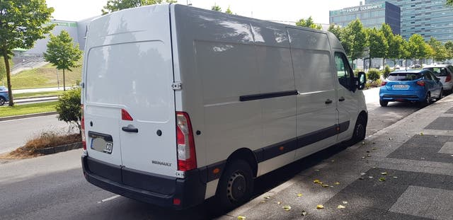 Renault Master agosto 2017