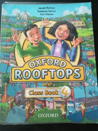 Libro Ingles rooftops 4 primaria