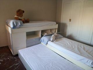 Conjunto 3 camas infantil-juvenil
