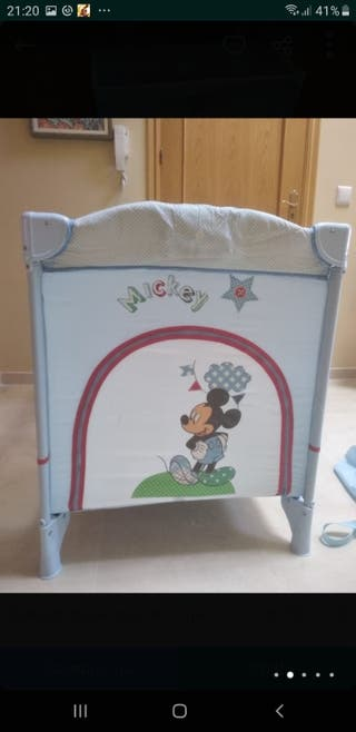 Cuna De Viaje De Mickey