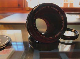 Objetivo Olympus 50mm 1.4