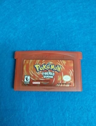 Game Boy Advance - Pokemon Rojo Fuego
