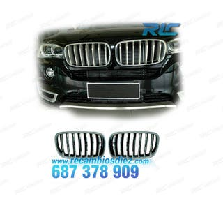 PARRILLAS BMW X6 F16 14- COLOR CROMO