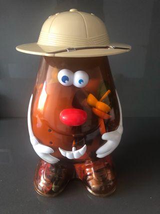 Mister Potato juguete contenedor
