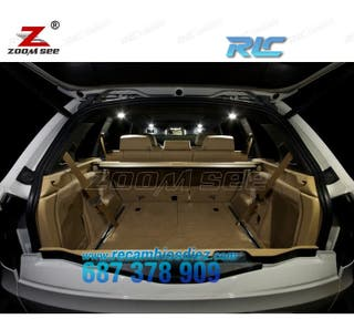 Kit completo de 20 bombillas LED interior para BMW