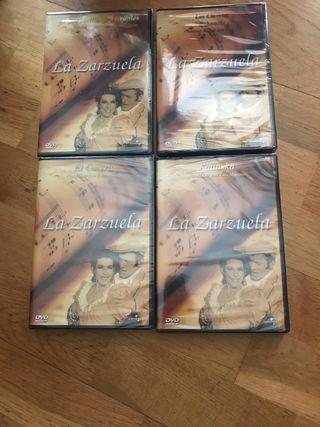 4 dvds de la zarzuela