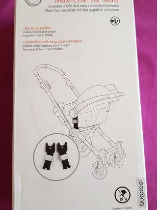 Adaptadores silla auto Bugaboo Camaleon