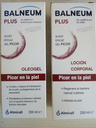 oleogel y loción corporal picor balneum plus