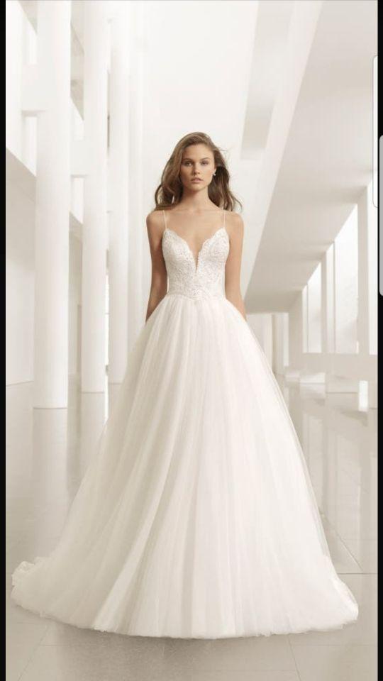 venta más barata varios tipos de paquete de moda y atractivo Vestido Novia-Modelo Pravia Rosa Clara de segunda mano por ...