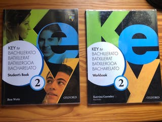 Libros inglés Oxford 2º de bachillerato