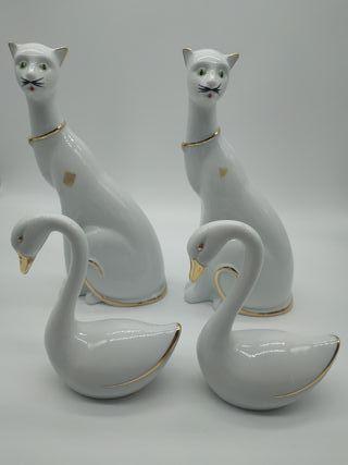 Juego de figuras de porcelana Frayma