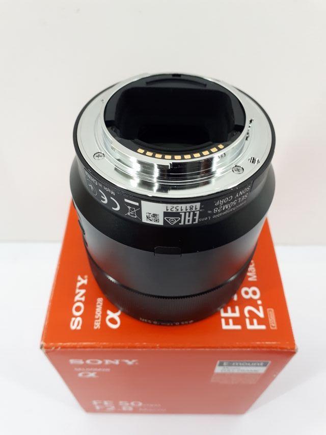 OBJETIVO SONY 50 mm. 2,8 MACRO