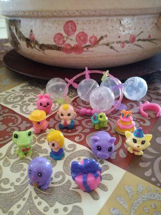 Muñecos Mini Squikies colección