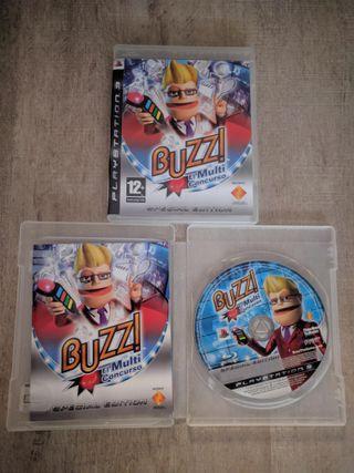 Juego PS3 Buzz El Multiconcurso