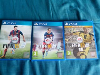 3 JUEGOS PS4