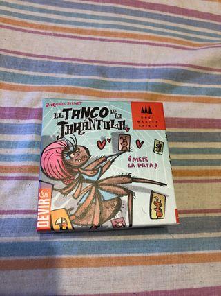 El tango de la tarántula juego de mesa